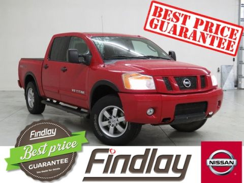 Pre-Owned 2010 Nissan Titan PRO 4-X